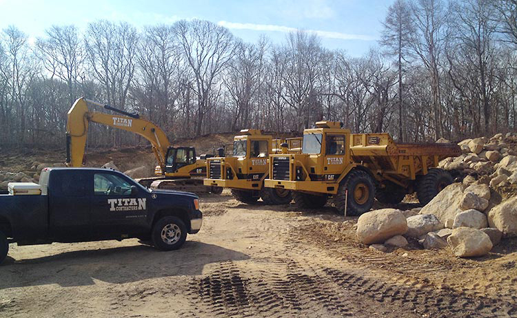 Titan Contractors | Excavation Contractors
